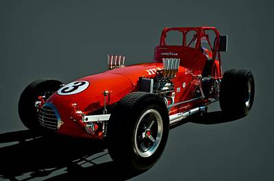 Photograph - 1972 A J Foyt Street Legal Sprint Car Replica by Tim McCullough