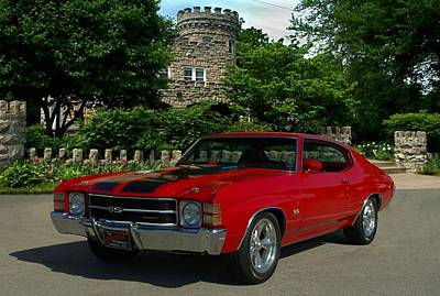 Photograph - 1972 Chevelle Ss 454 by Tim McCullough