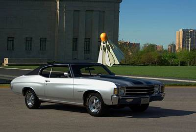 Photograph - 1972 Chevelle by Tim McCullough