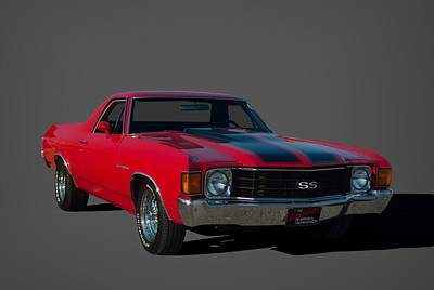 Photograph - 1972 Chevrolet El Camino Super Sport by Tim McCullough