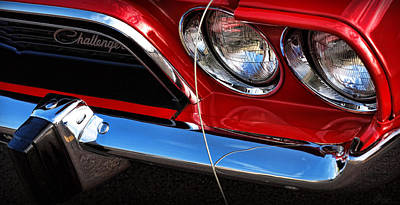 Cars Photograph - 1972 Dodge Challenger  by Gordon Dean II