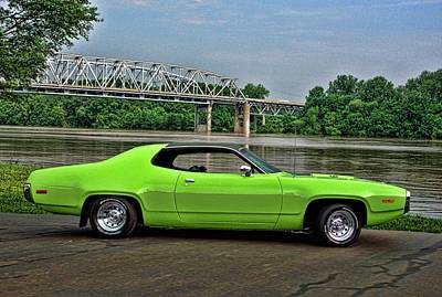Photograph - 1972 Dodge by Tim McCullough
