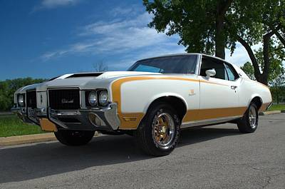 Photograph - 1972 Hurst Oldsmobile by Tim McCullough
