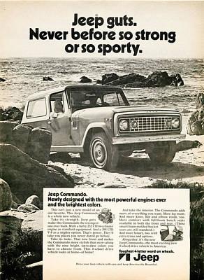 1972 Jeep Commando Art Print