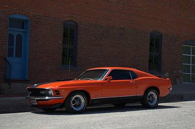 Photograph - 1970 Mustang Mach 1 by Tim McCullough