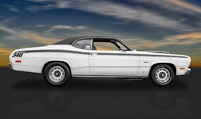 Photograph - 1972 Plymouth Duster 340 by Frank J Benz