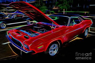 1973 Dodge Challenger - Classic Muscle Car  Art Print