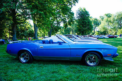 Photograph - 1973 Ford Mustang Convertible by Grace Grogan