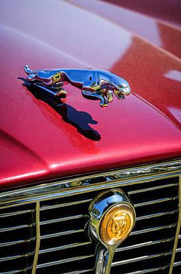 Photograph - 1973 Jaguar Xj6 Sedan Hood Ornament - Grille Emblem -3306c by Jill Reger