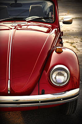 Photograph - 1973 Volkswagen Beetle Convertible by Gordon Dean II