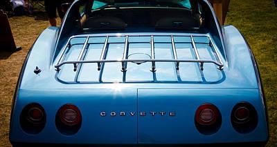 1974 Chevy Corvette Art Print by David Patterson