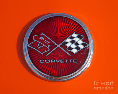 Photograph - 1975 Chevy Corvette  by Mark Dodd