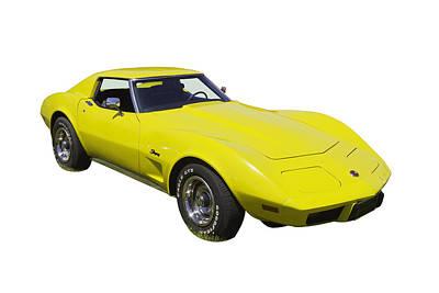 Photograph - 1975 Corvette Stingray Sportscar by Keith Webber Jr