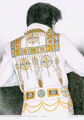 1975 Indian Chief Suit Art Print by Rob De Vries
