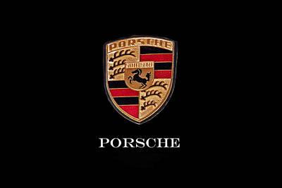 912 Photograph - 1976 Porsche 912 E Emblem by Nick Gray