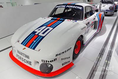 1977 Porsche 935 Print by Paul Fearn