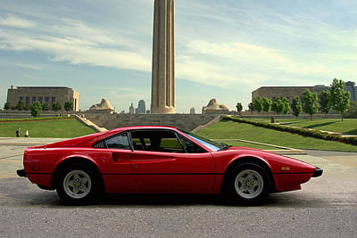 Photograph - 1979 Ferrari 308 Gtb by Tim McCullough