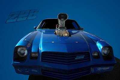 Photograph - 1980 Chevrolet Camaro Z28 Pro Street Dragster by Tim McCullough