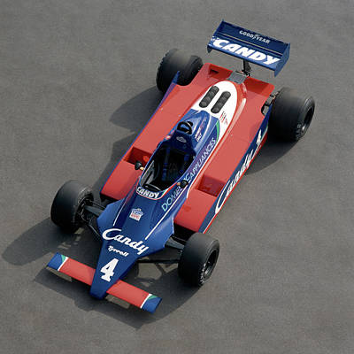 Formula One Photograph - 1980 Tyrrell-cosworth 010 Single Seat by Panoramic Images