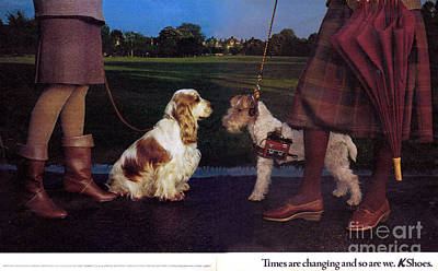 1980s Uk K Shoes Magazine Advert Art Print by The Advertising Archives