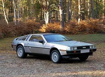 1981 De Lorean Dmc-12 Sports Car Art Print