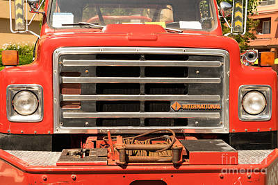 Photograph - 1982 International Cal Fire Engine Model 6 Dsc1407 by Wingsdomain Art and Photography