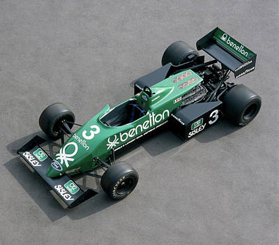 Formula One Photograph - 1982 Tyrrell-cosworth 011, 3.0 Litre by Panoramic Images