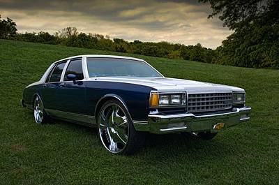 Photograph - 1983 Chevrolet Caprice by Tim McCullough