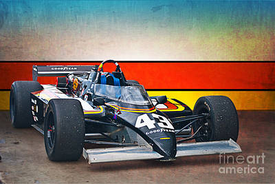 1983 Lola T700 Indy Car Art Print by Stuart Row