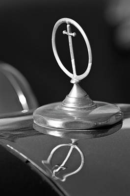 1984 Excalibur Roadster Hood Ornament 2 Art Print by Jill Reger