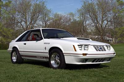 Photograph - 1984 Mustang Dominator Gt-350 by Tim McCullough