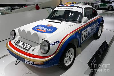 1984 Porsche 953 Paris Dakar Print by Paul Fearn