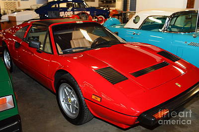 Photograph - 1985 Ferrari 308 Gts 5d25652 by Wingsdomain Art and Photography