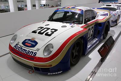 1986 Porsche 961 Art Print