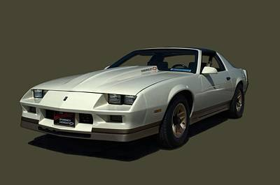 Photograph - 1987 Camaro Z28 by Tim McCullough