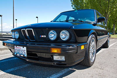 Firefighter Patents Royalty Free Images - 1988 Bmw M5 Royalty-Free Image by Mike Centioli