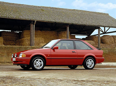 Escort Photograph - 1988 Ford Escort Xr3i. 1.9 Litre by Panoramic Images
