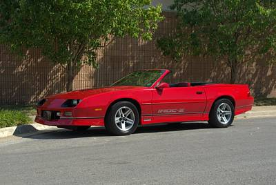 Photograph - 1989 Camaro Iroc Z Convertible by Tim McCullough