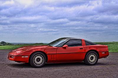 Photograph - 1989 Corvette by Tim McCullough