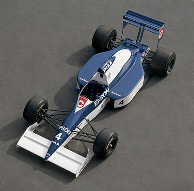 Formula One Photograph - 1989 Tyrrell-cosworth 3.5 Litre F1 by Panoramic Images