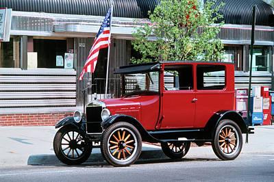 1990s Restored 1926 Ford Model T Art Print