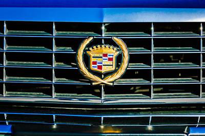 Photograph - 1994 Cadillac Eldorado Emblem -0783c by Jill Reger