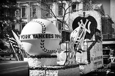 Photograph - 1996 Yankees Float by John Rizzuto