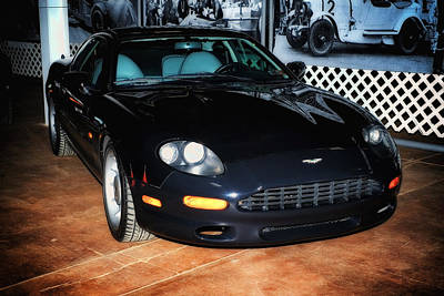1997 Aston Martin Db7 Art Print