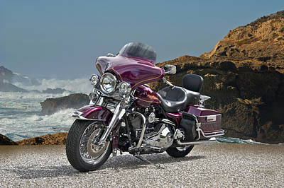 1997 Harley-davidson Road King Art Print