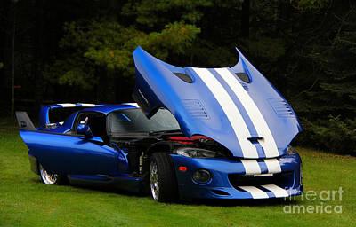 Photograph - 1997 Viper Hennessey Venom 650r 4 by Davandra Cribbie