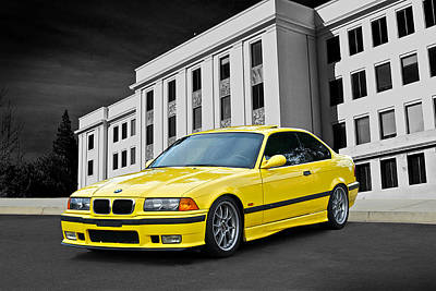 Bmw M3 Photograph - 1998 Bmw M3 Coupe by Dave Koontz