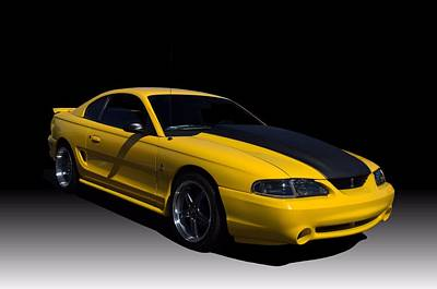 Photograph - 1998 Mustang Svt Cobra by Tim McCullough
