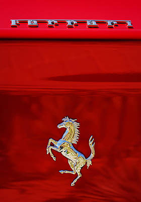 1999 Ferrari 550 Maranello Emblem -651c Original