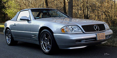 Photograph - 1999 Mercedes Sl500 by James C Thomas
